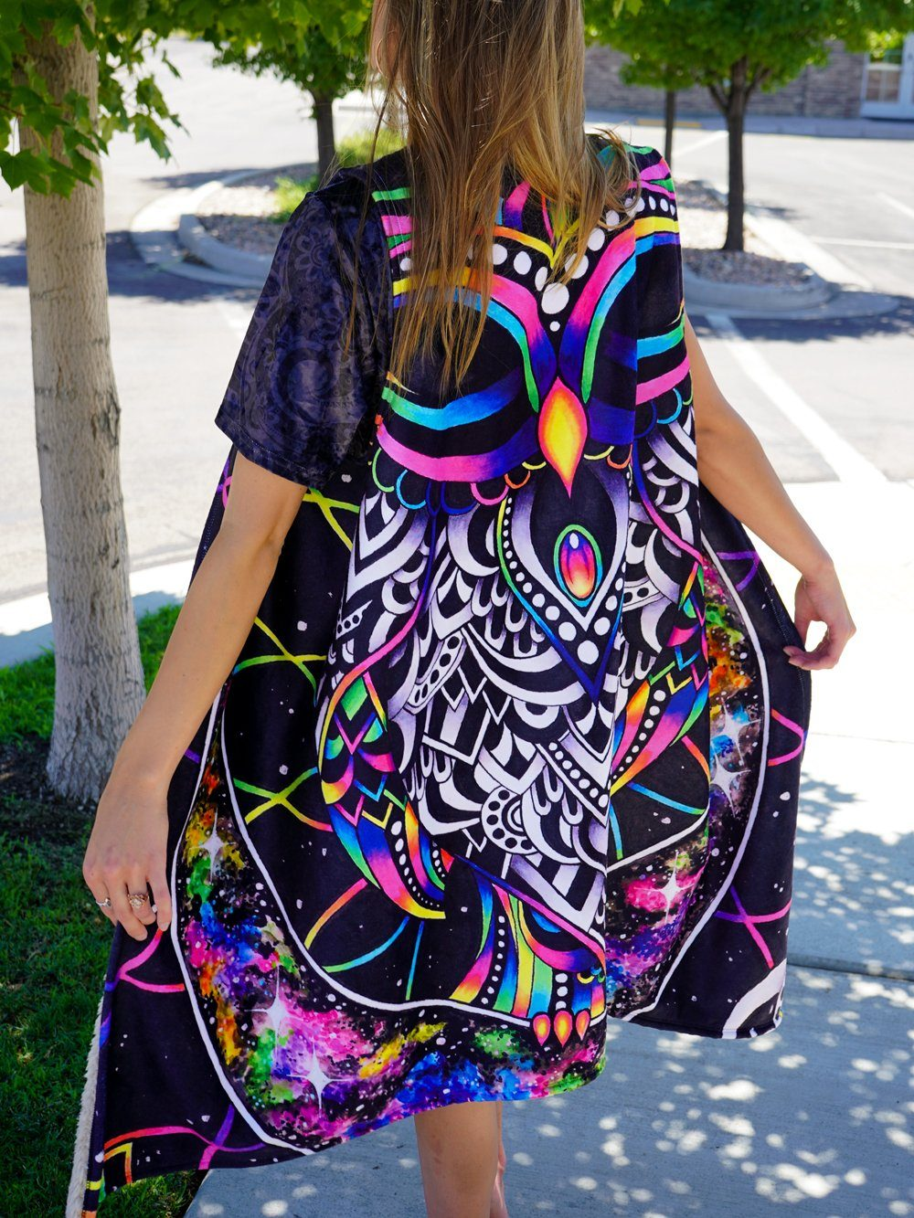 Electro Owl Summer Dream Cloak Dream Coat Electro Threads