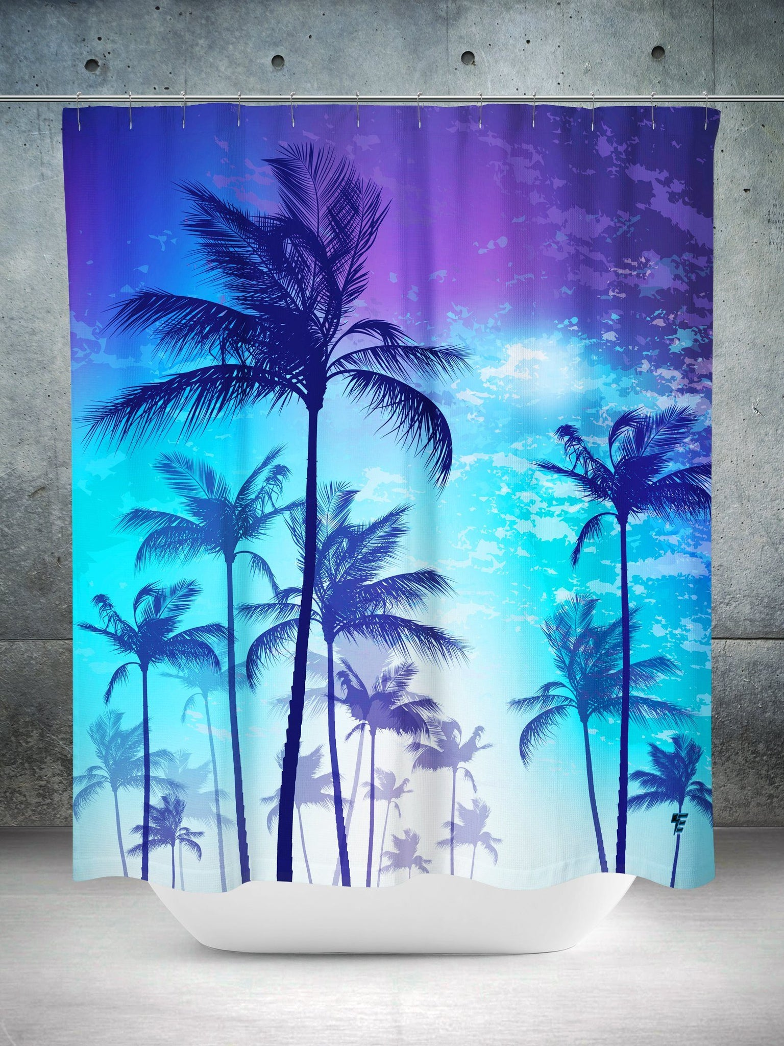 Escape Shower Curtain Shower Curtains Electro Threads