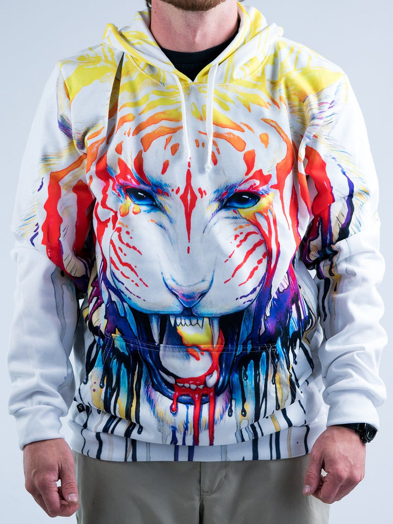 Fading Unisex Hoodie Pullover Hoodies T6 XS White Pullover Hoodie
