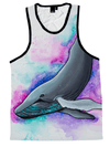 Fantasia Whale Unisex Tank Top Tank Tops T6