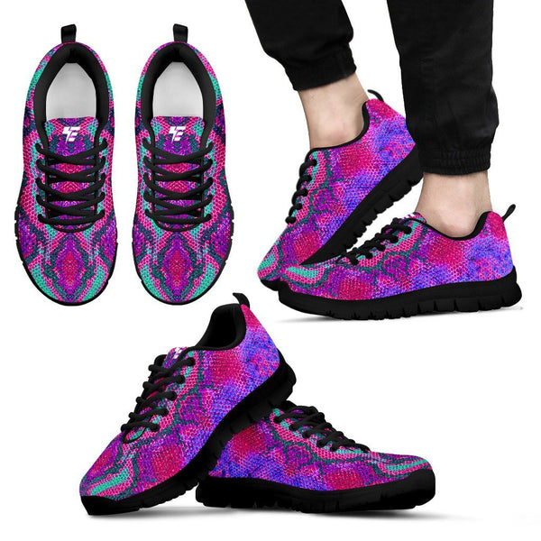 Festival Snake Skin Sneakers Sneakers Electro Threads