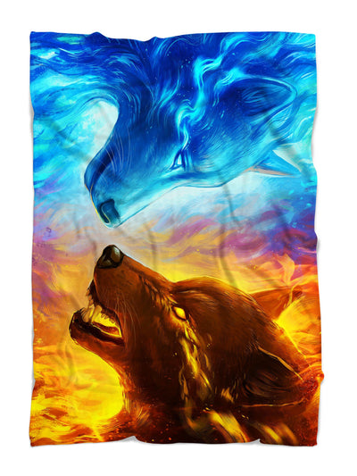 Fire and Ice Blanket Blanket Electro Threads