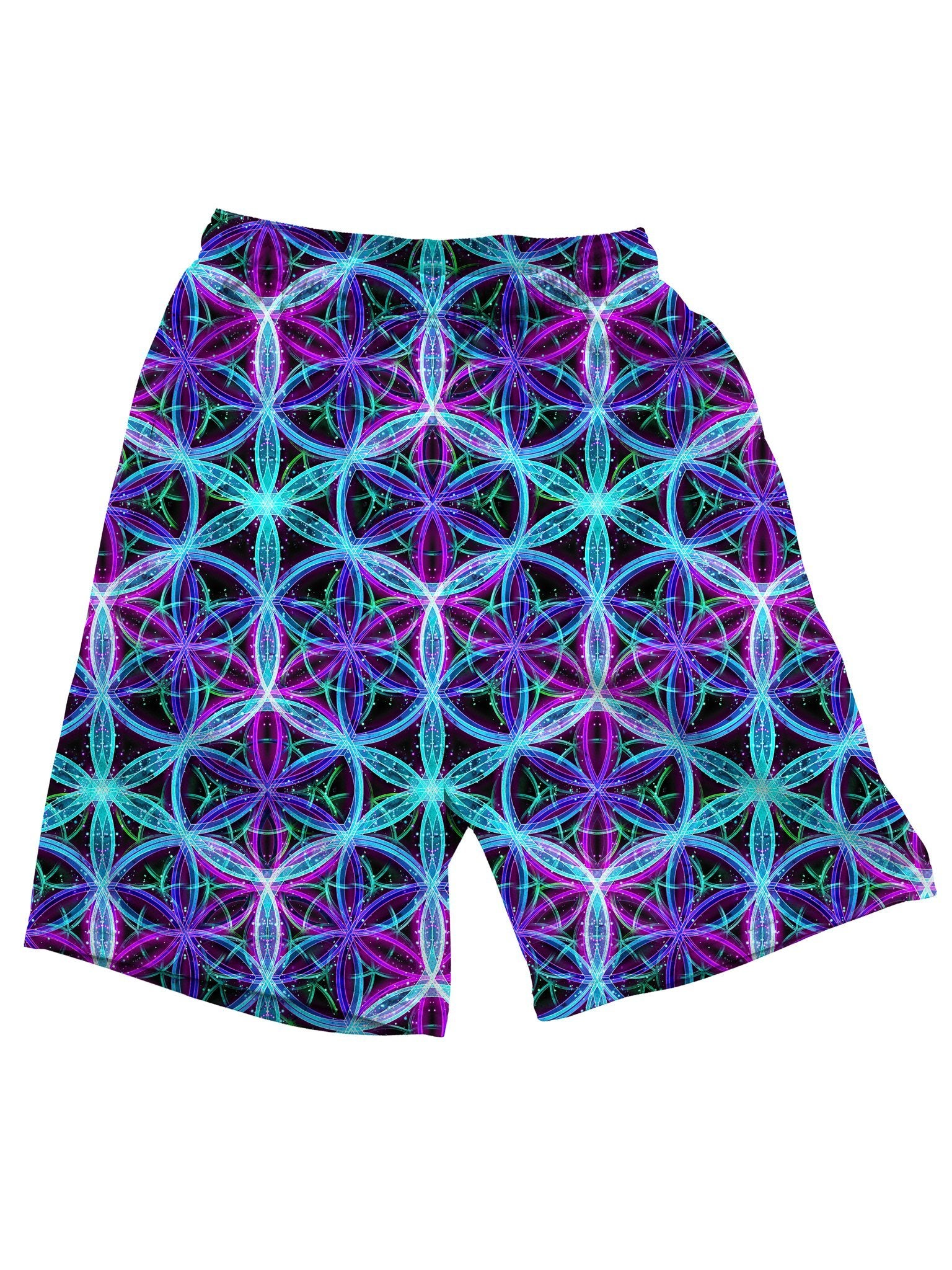 Flower Of Life Shorts Mens Shorts Electro Threads