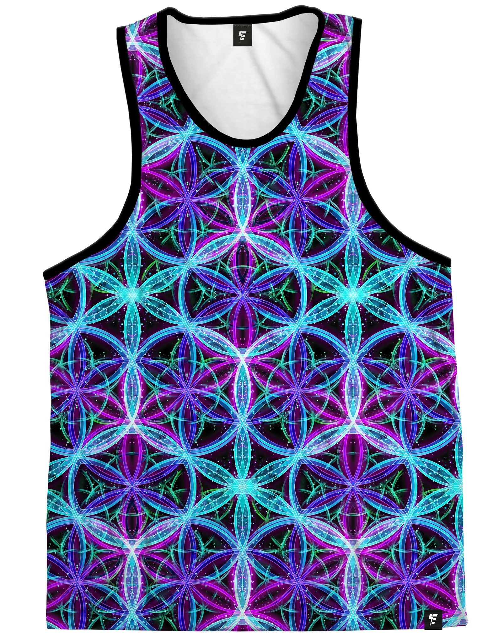 Flower Of Life Unisex Tank Top Tank Tops Electro Threads