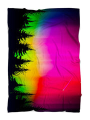 Forest Galaxy Blanket Blanket Electro Threads