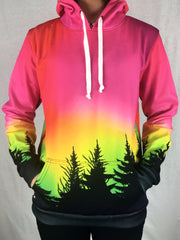 Forest Galaxy Unisex Hoodie Pullover Hoodies T6