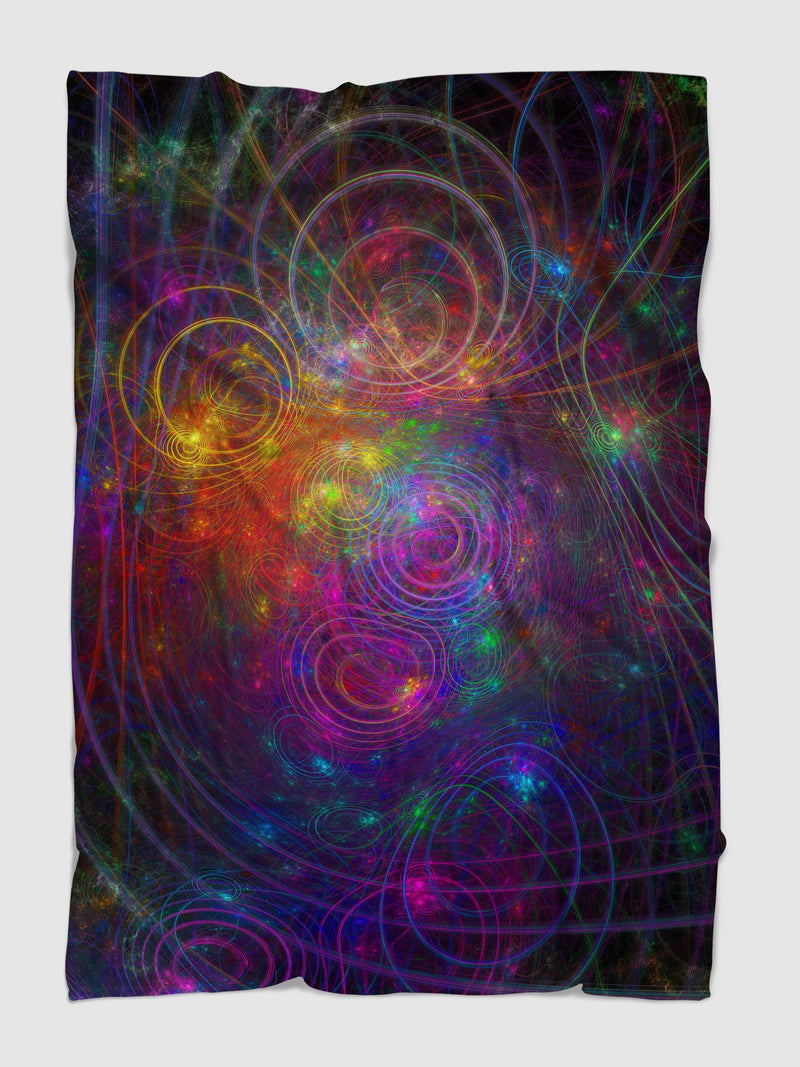 Fractal Cosmos Blanket Blanket Electro Threads