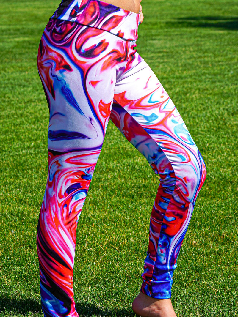 Freedom Melt Leggings Leggings Electro Threads