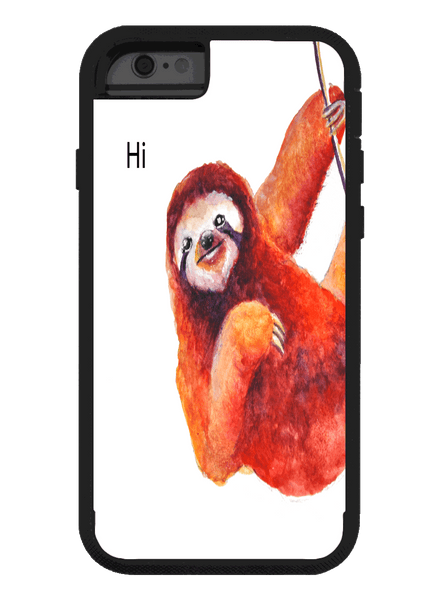 Friendly Sloth iPhone Phone Case Phone Case Electro Threads