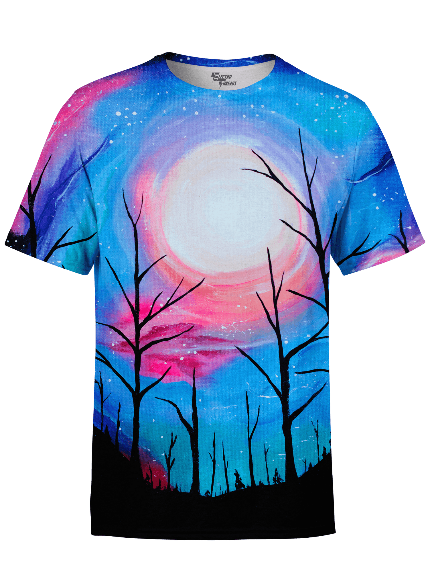 Full Moon Unisex Crew T-Shirts T6