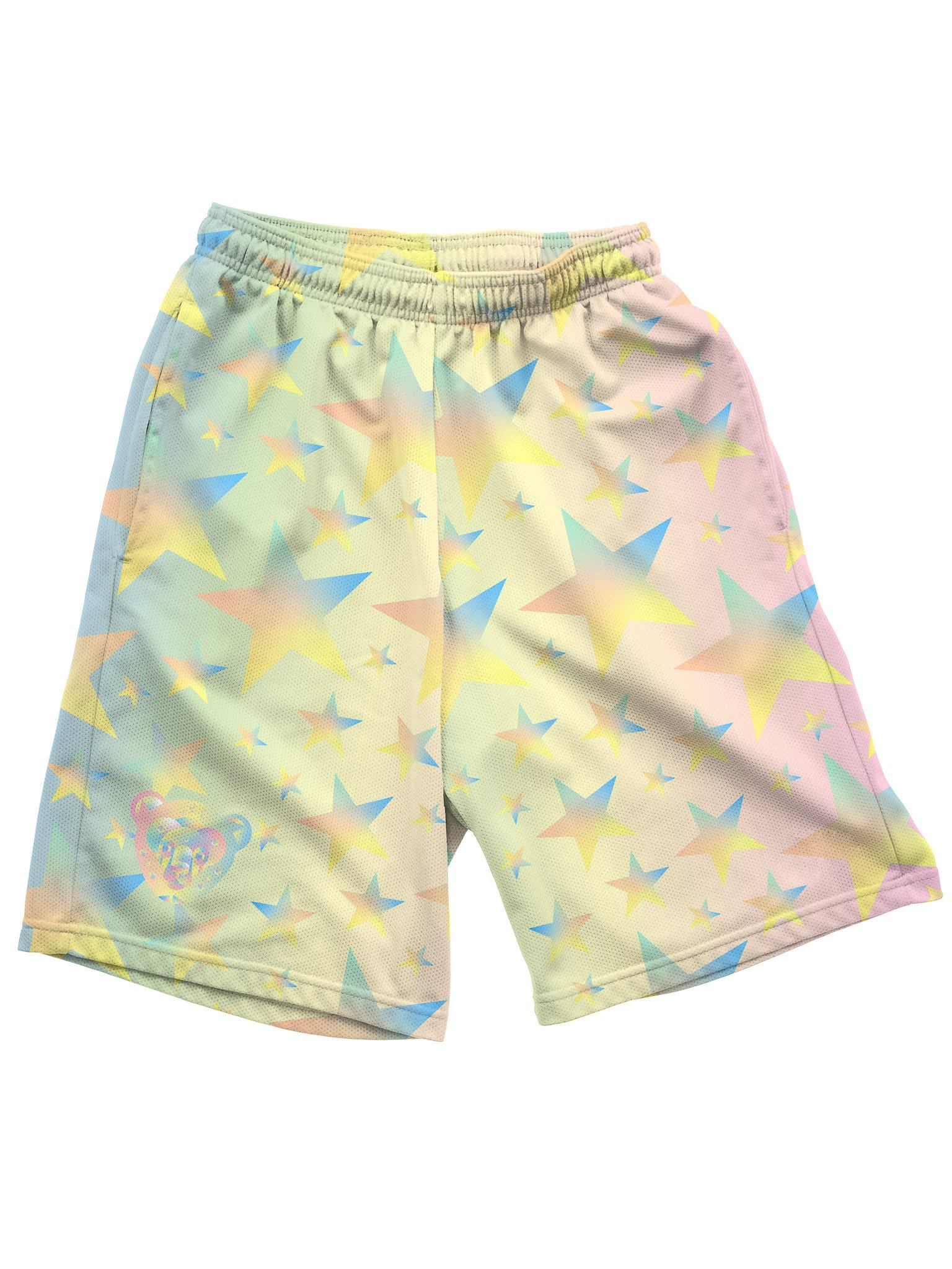 Galactic Bear Shorts Mens Shorts Electro Threads