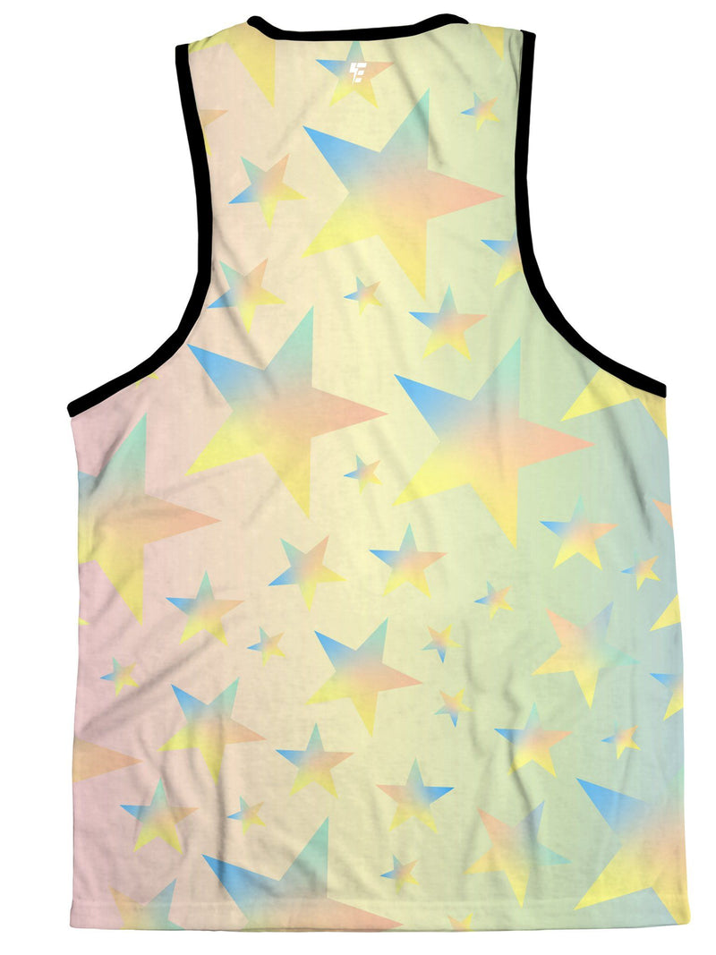 Galactic Bear Unisex Tank Top Tank Tops Electro Threads