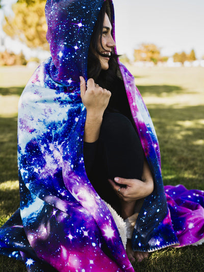 Galaxy 2.0 Hooded Blanket Hooded Blanket Electro Threads