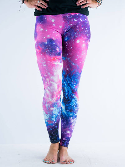 Galaxy 2.0 Leggings Leggings T6 X-Small Pink