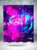 Galaxy 2.0 Shower Curtain Shower Curtains Electro Threads