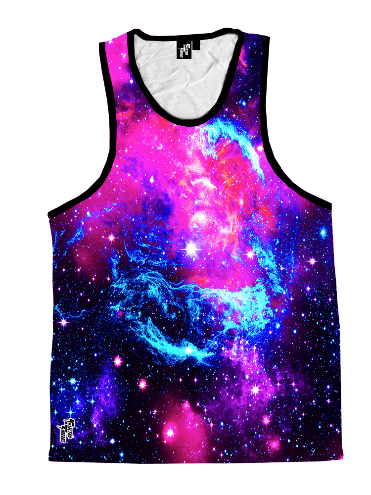 Galaxy 2.0 Unisex Tank Top Tank Tops T6 X-Small Pink