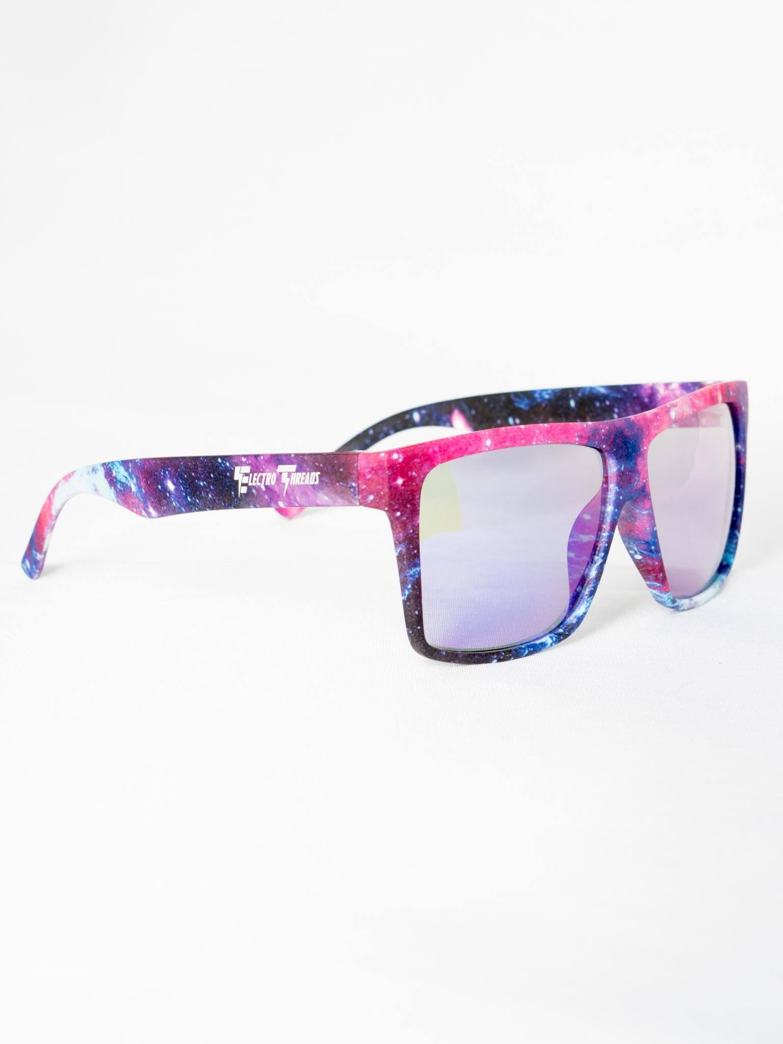 Galaxy Sunglasses Glasses Electro Threads Purple