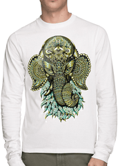 Ganesha Long Sleeve Long Sleeve Electro Threads