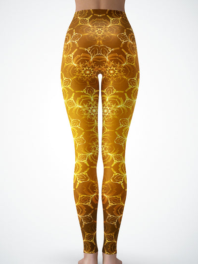 Golden Lotus Tights Tights Electro Threads