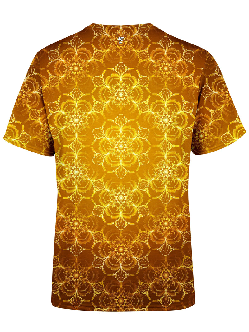 Golden Lotus Unisex Crew T-Shirts Electro Threads