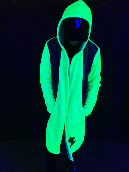 Green Neon Electro Dream Cloak Dream Cloak Electro Threads