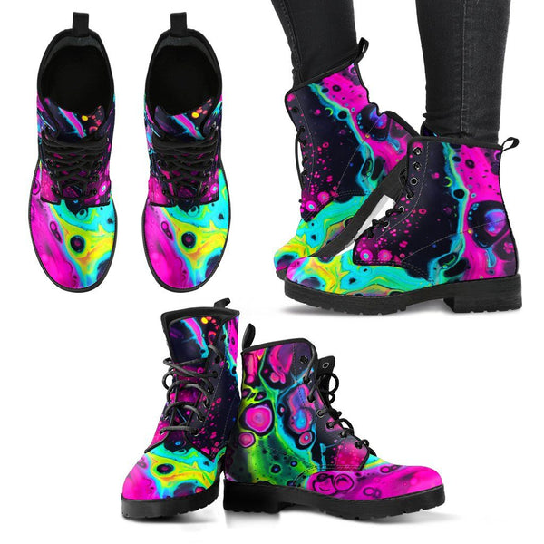 Heart Melt Women's Leather Boots Women's Leather Boots Electro Threads