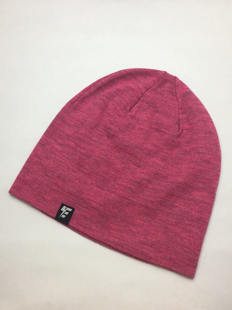 d5dd43553b0 Heather Fuchsia Slouch Beanie – Electro Threads