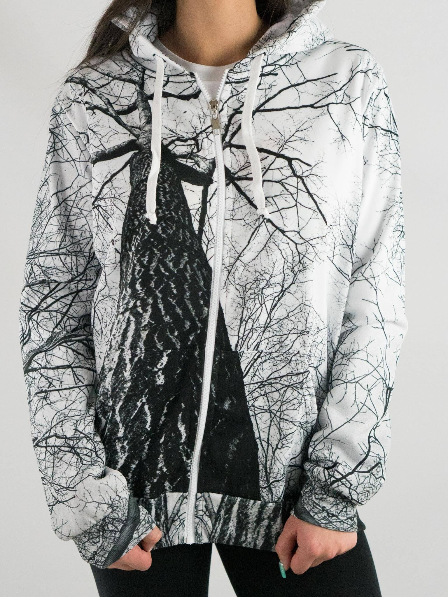 Higher Trees Unisex Zip Hoodie Pullover Hoodies T6
