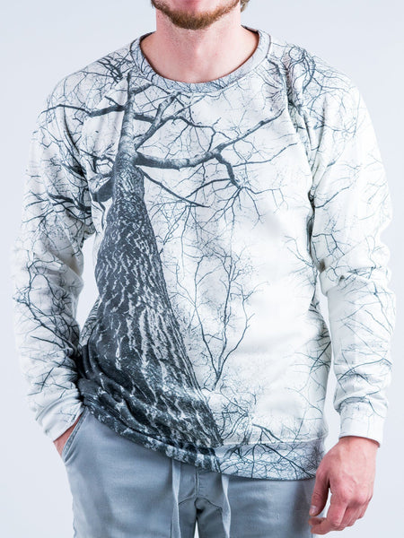 Higher Trees Vintage Sweatshirt Sweatshirt T6 XS WHITE