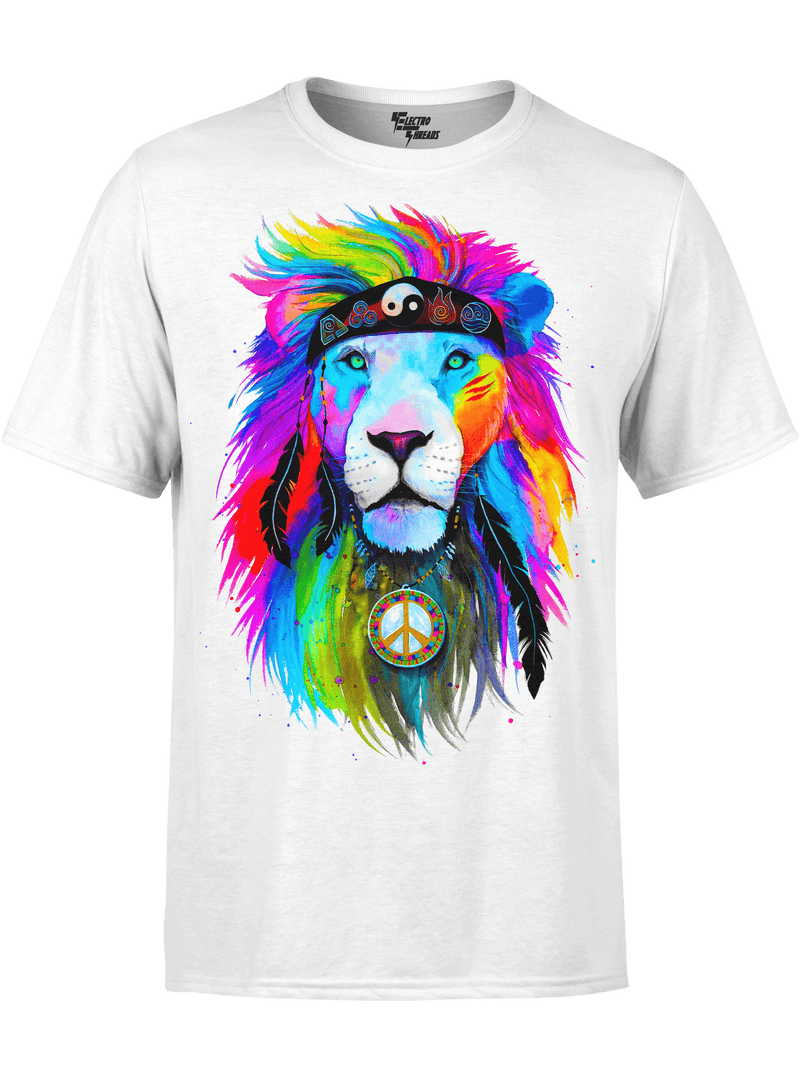 HIPPIE LION PREMIUM COTTON CREW Premium Supima Cotton Crew Tee T6 Black X-Small