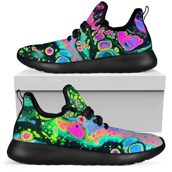 Holo Melt Mesh Knit Sneakers Mesh Knit Sneakers Electro Threads