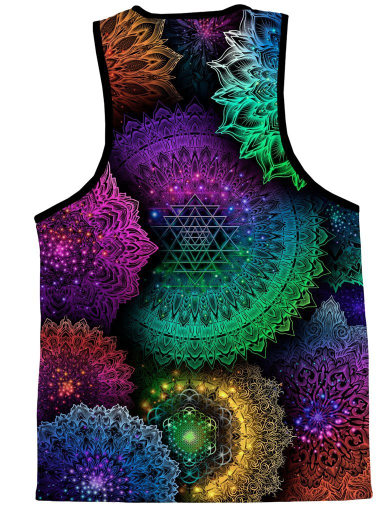 Illuminated Mandala Unisex Tank Top Tank Tops T6