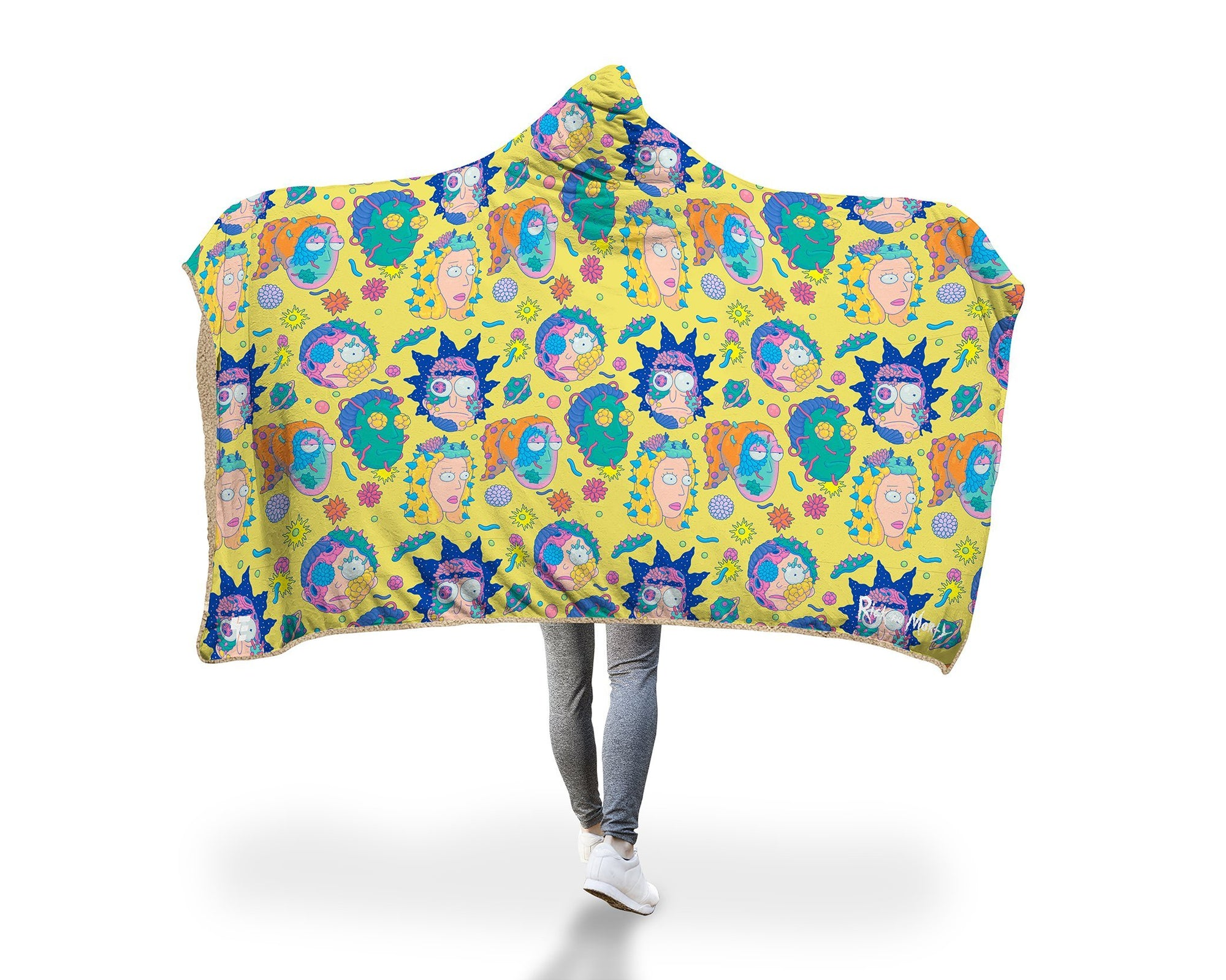 Infected Smith Family Hooded Blanket Hooded Blanket Electro Threads