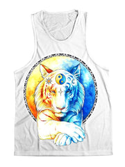 Inner Balance Unisex Tank Top Tank Tops Electro Threads