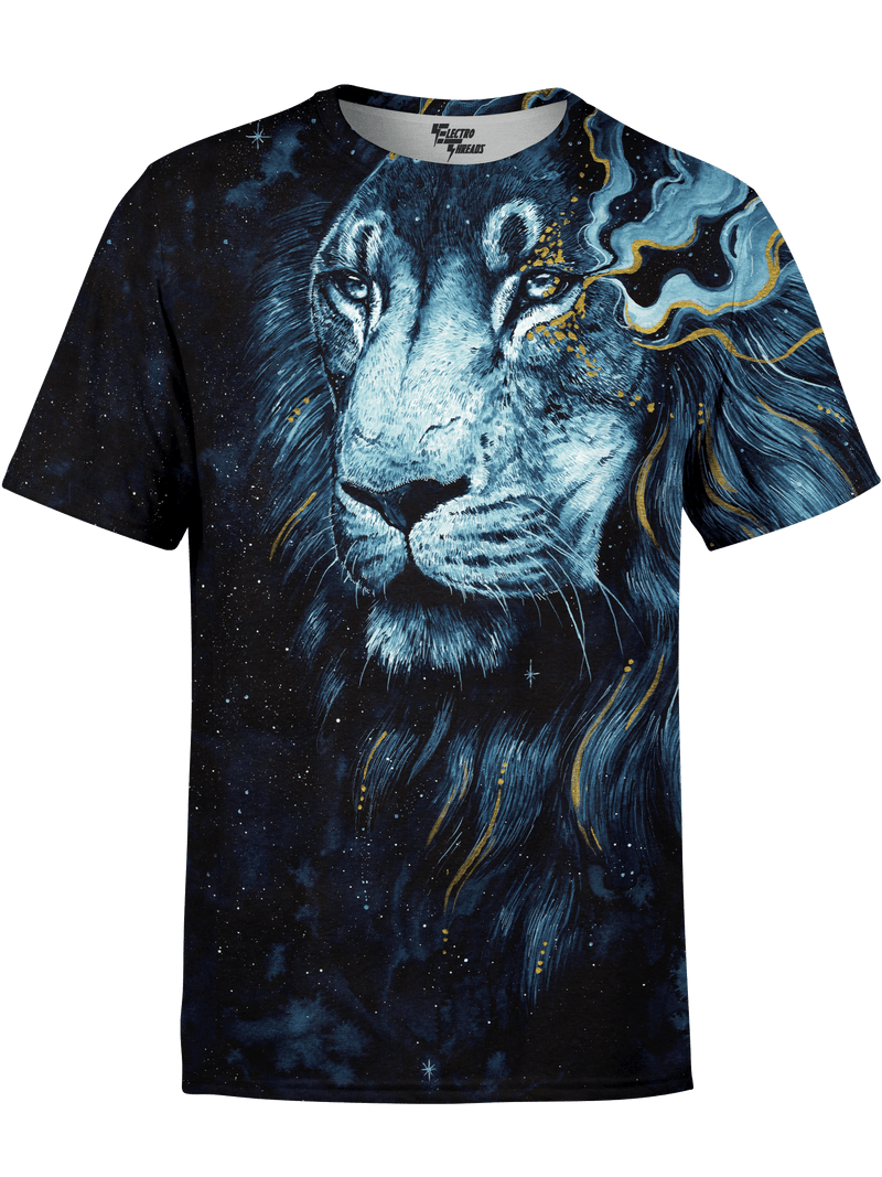 Into The Darkness Lion Unisex Shirt T-Shirts T6