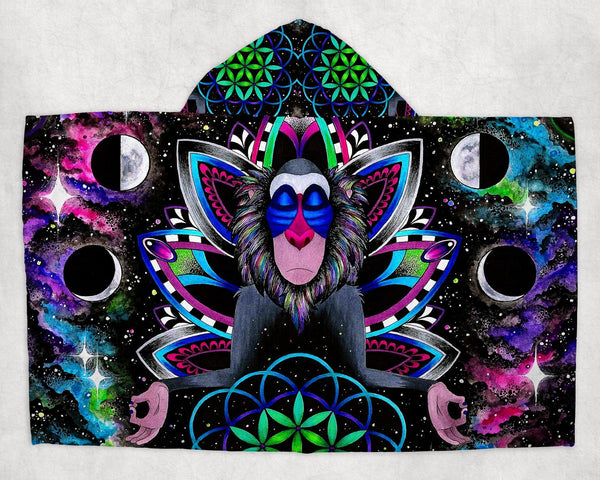 Kids Astral Rafiki Hooded Blanket Hooded Blanket Electro Threads