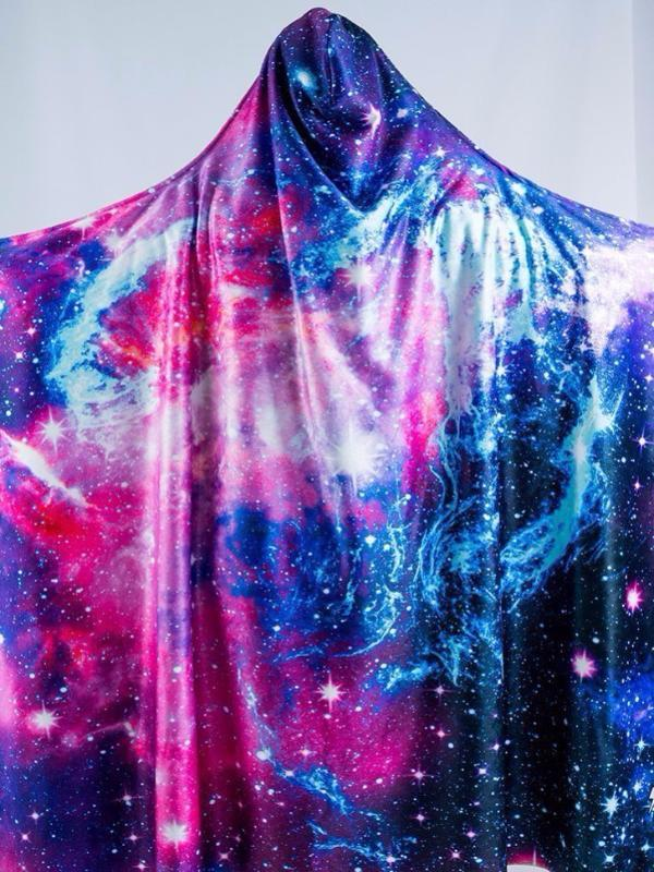 Kids Galaxy 2.0 Hooded Blanket Hooded Blanket Electro Threads