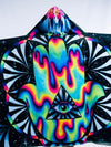 Kids Trippy Hamsa Hooded Blanket Hooded Blanket Electro Threads
