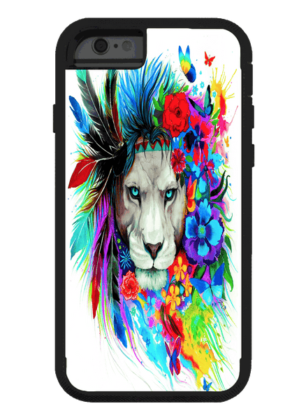 King of Lions iPhone Phone Case Phone Case Electro Threads 6 Plus/6s Plus