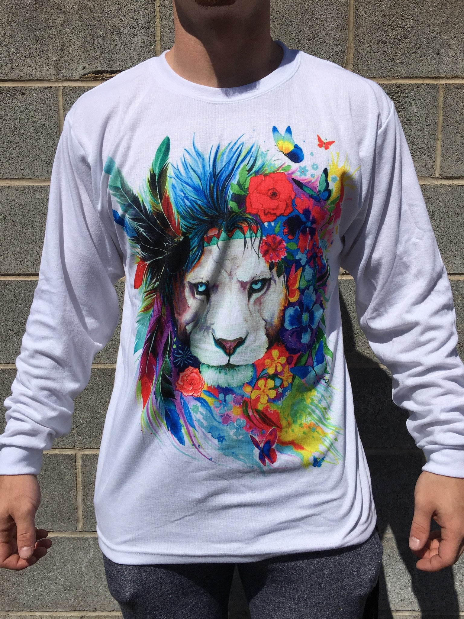 King of Lions Long Sleeve Long Sleeve Electro Threads X-Small