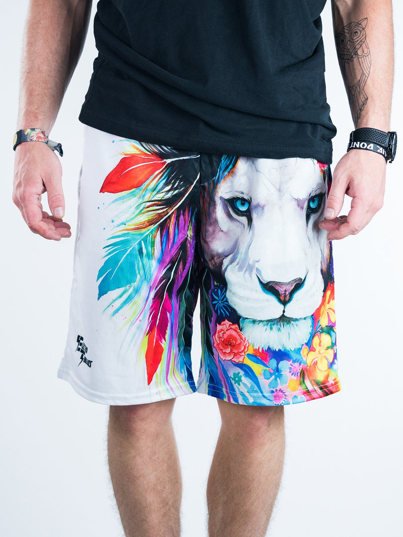 King of Lions Shorts Mens Shorts Electro Threads