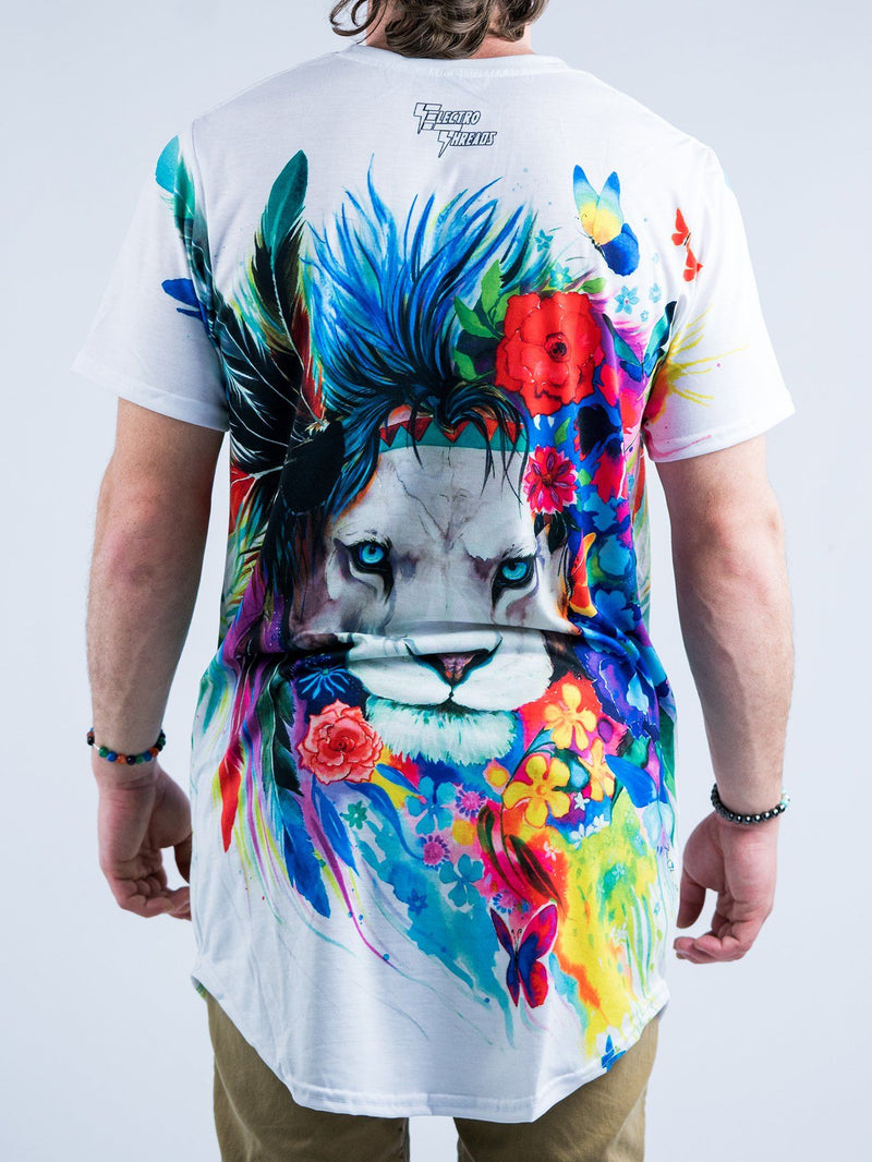 King of Lions Tall Tee Mens Tall Tee T6 XS WHITE
