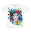 King of Lions Unisex Crew T-Shirts Electro Threads