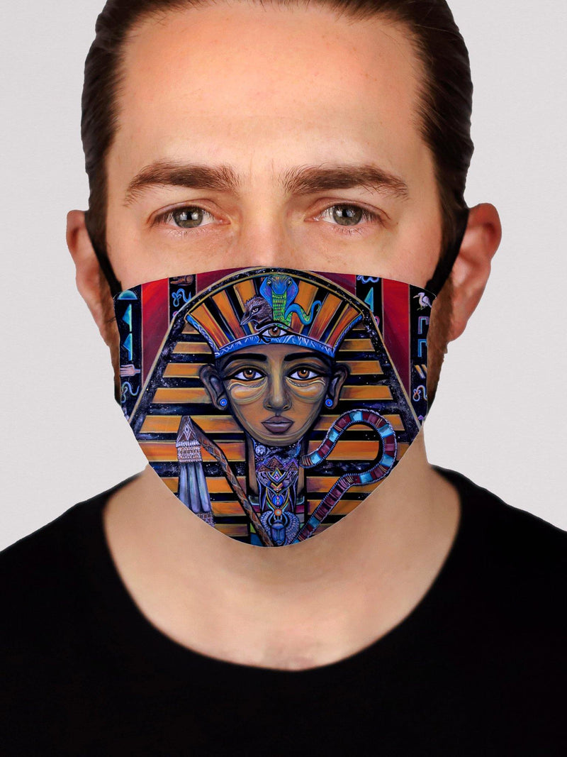 King Tut Face Mask Face Masks Electro Threads