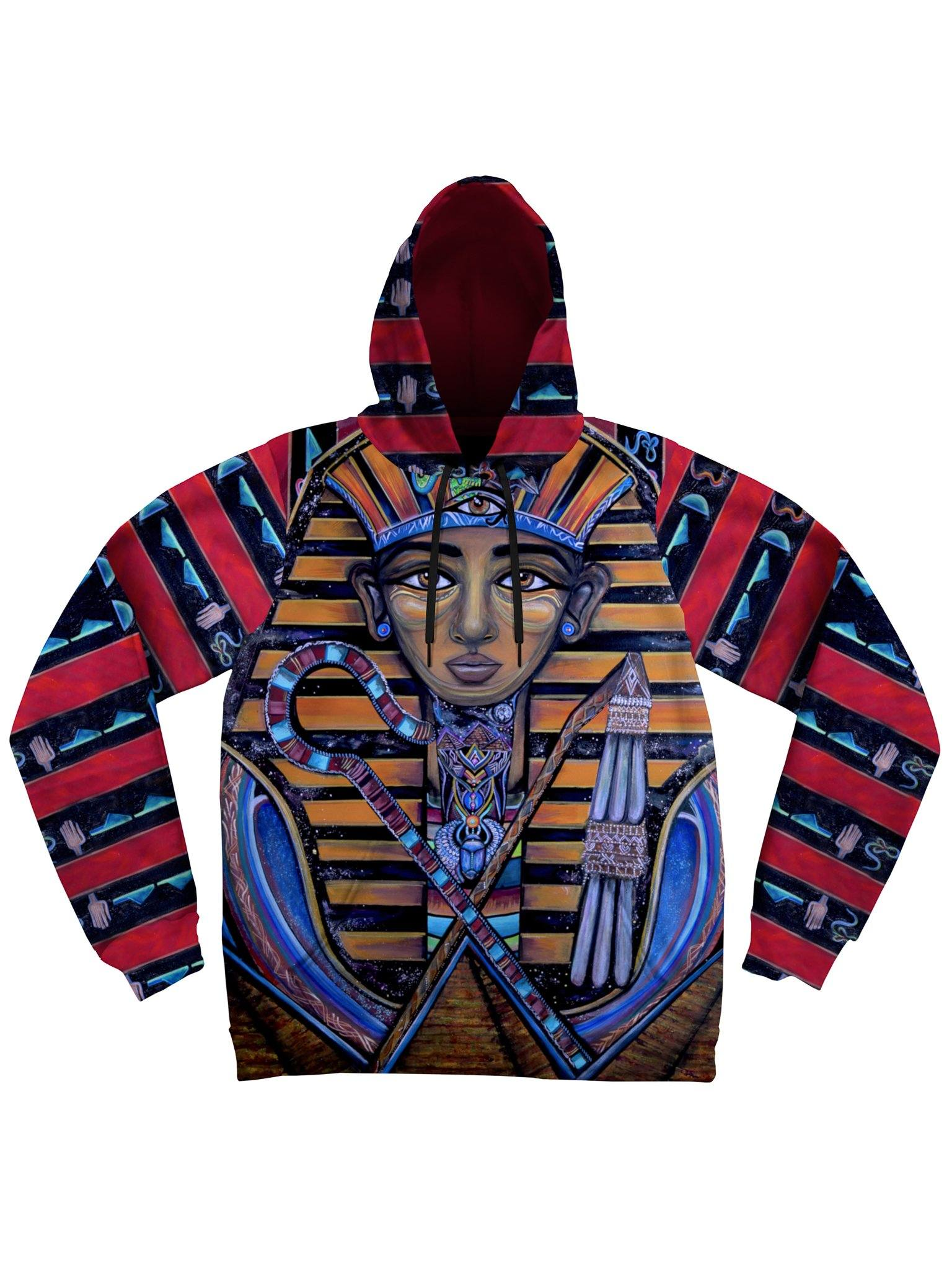 King Tut Unisex Hoodie Pullover Hoodies Electro Threads