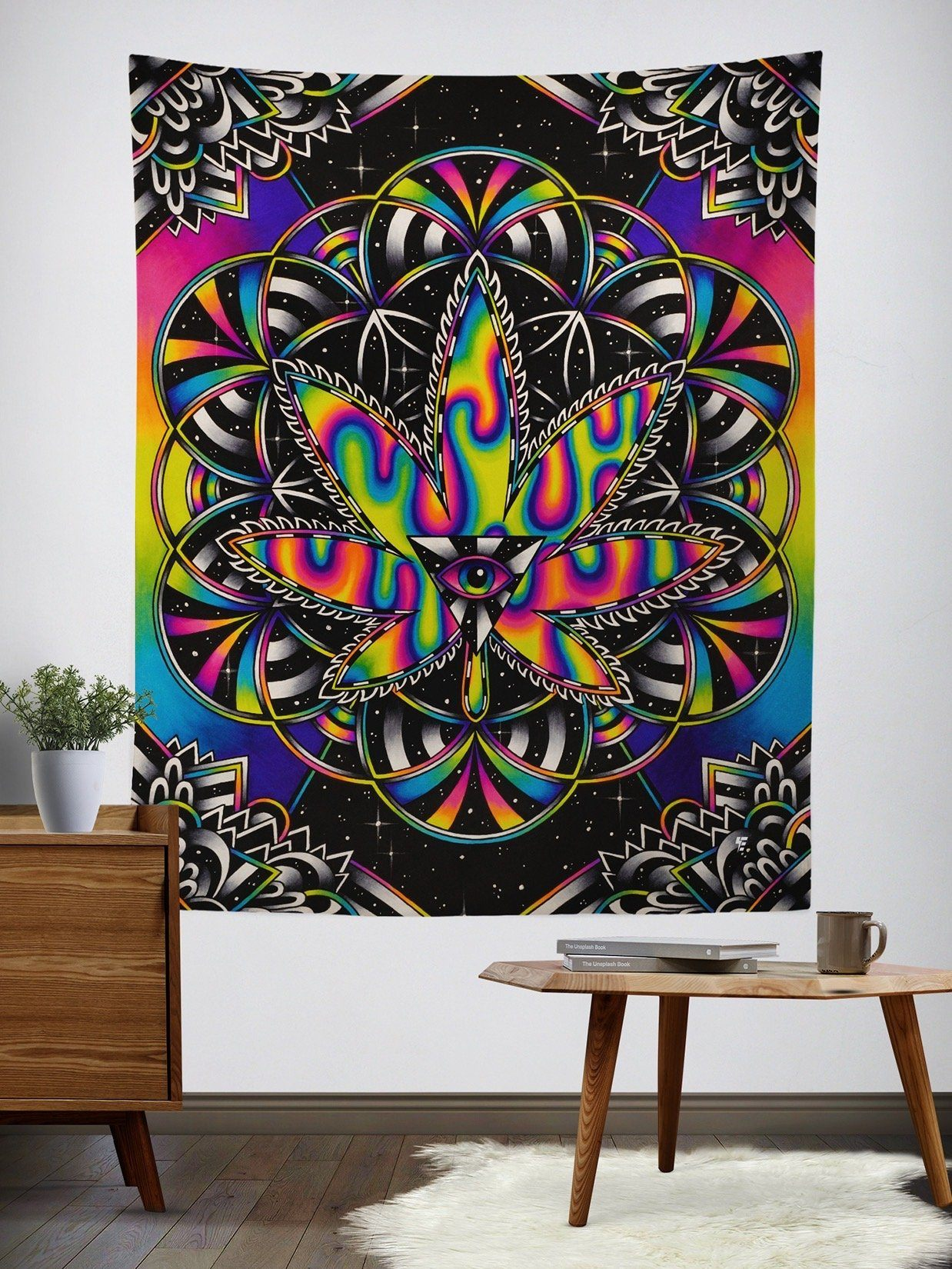 Kronic Haze Wall Tapestry Tapestry T6