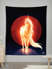 Last Unicorn Wall Tapestry Tapestry Electro Threads