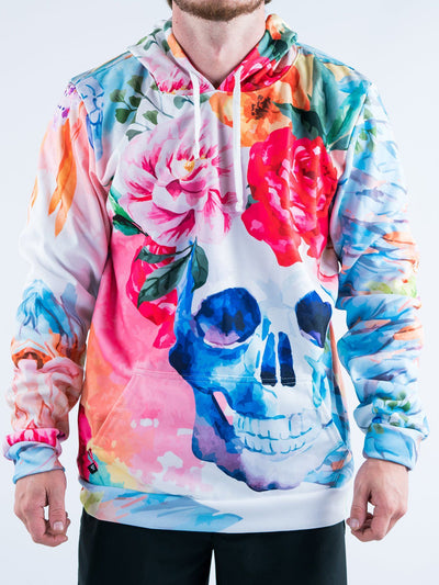 Life and Death Unisex Hoodie Pullover Hoodies T6 X-Small White Pullover Hoodie