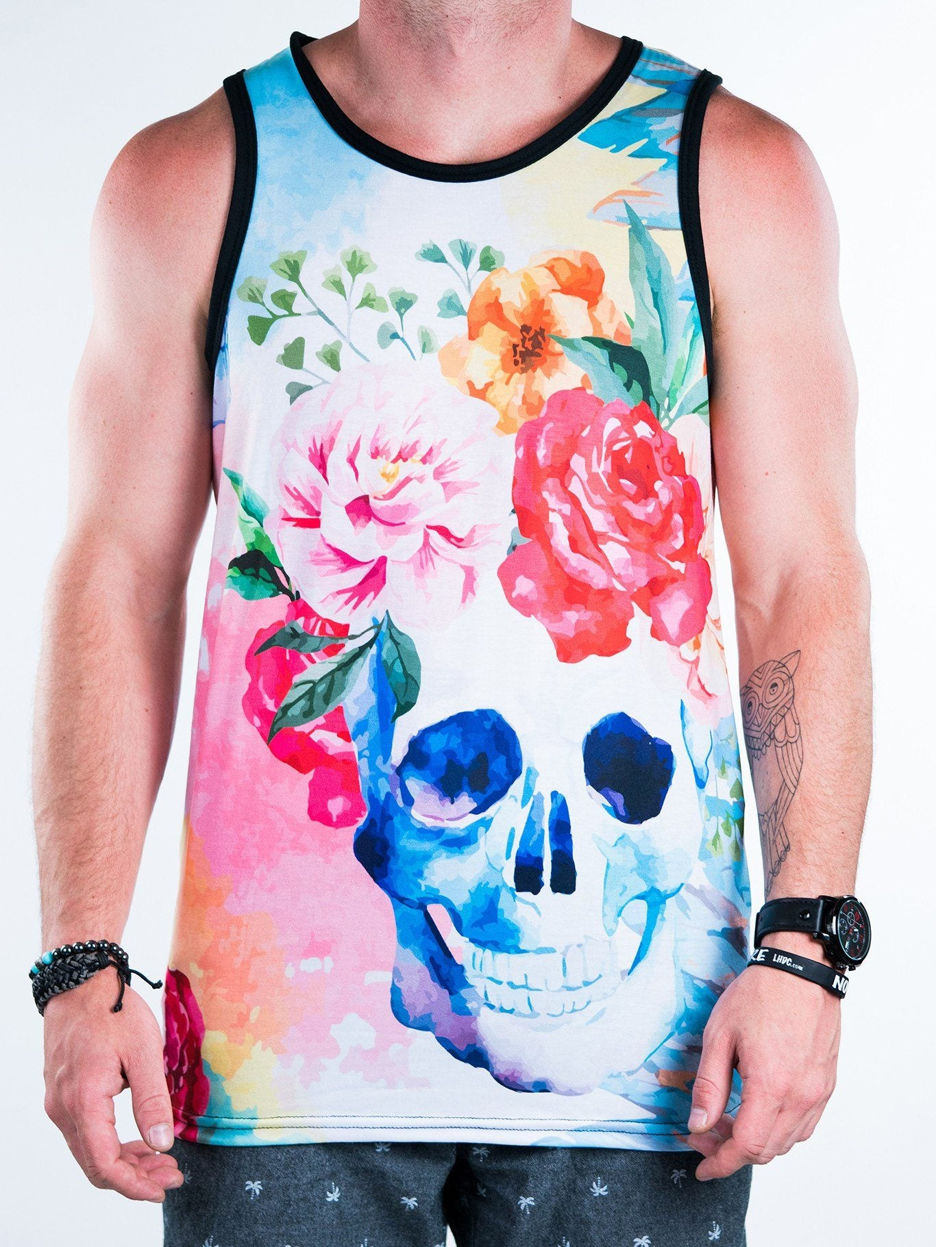 Life and Death Unisex Tank Top Tank Tops T6