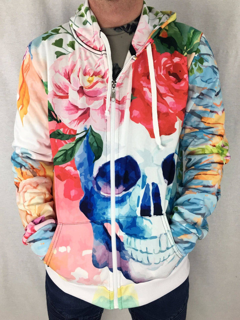 Life and Death Unisex Zip Hoodie Pullover Hoodies T6